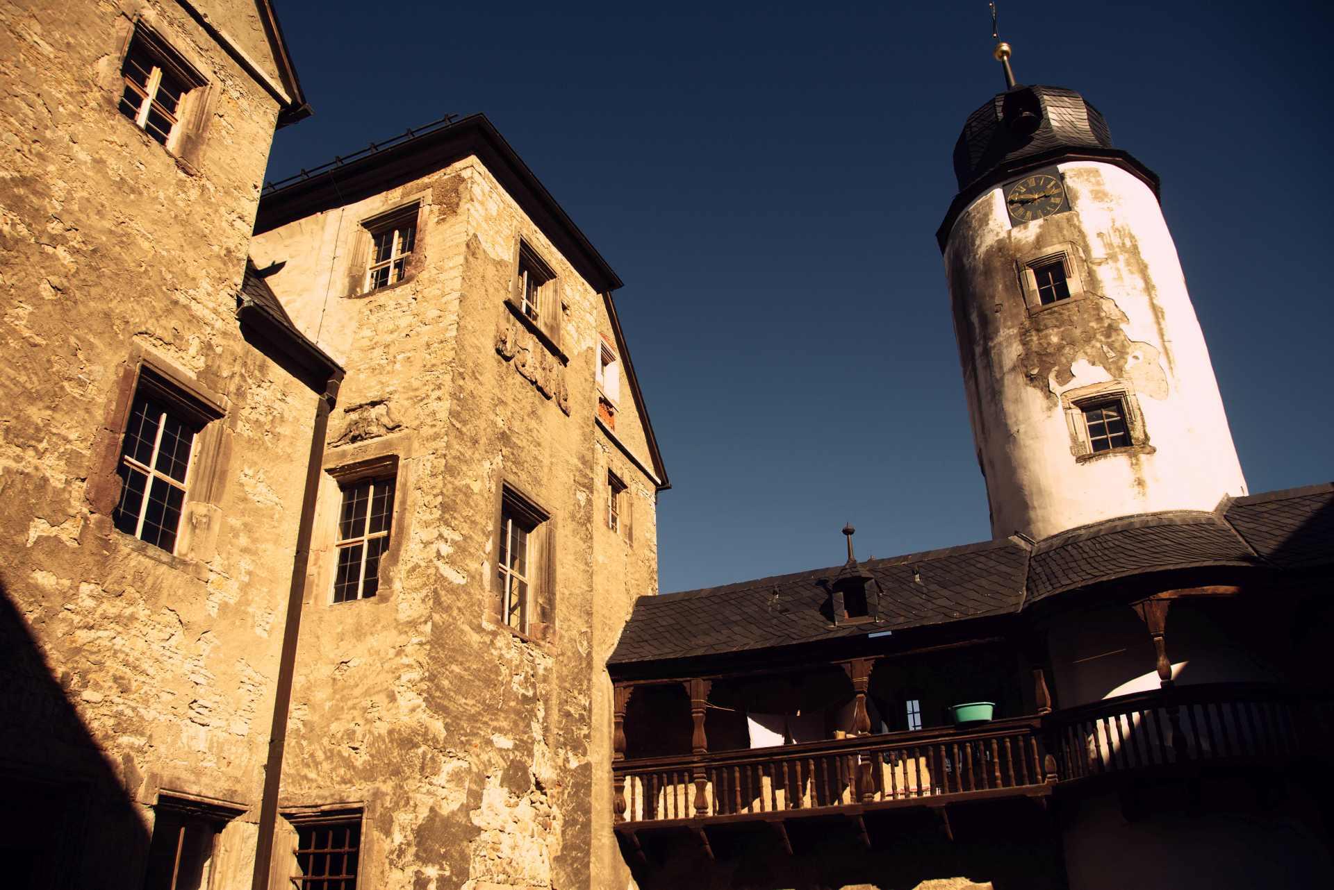Vierte Station: Schloss Kannawurf als aktives Projekt. Foto: Boris Hajdukovic